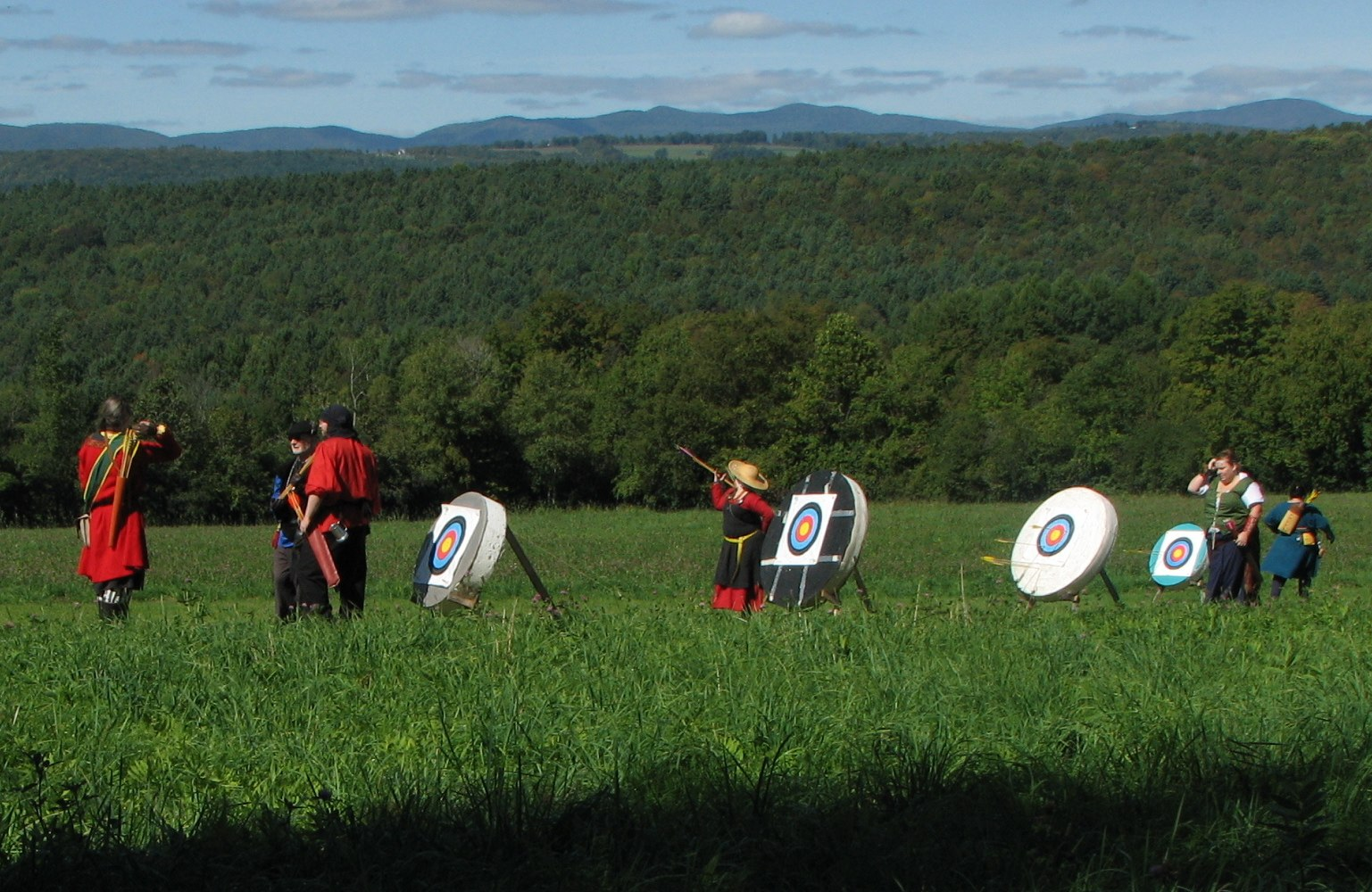 Panther Vale archers