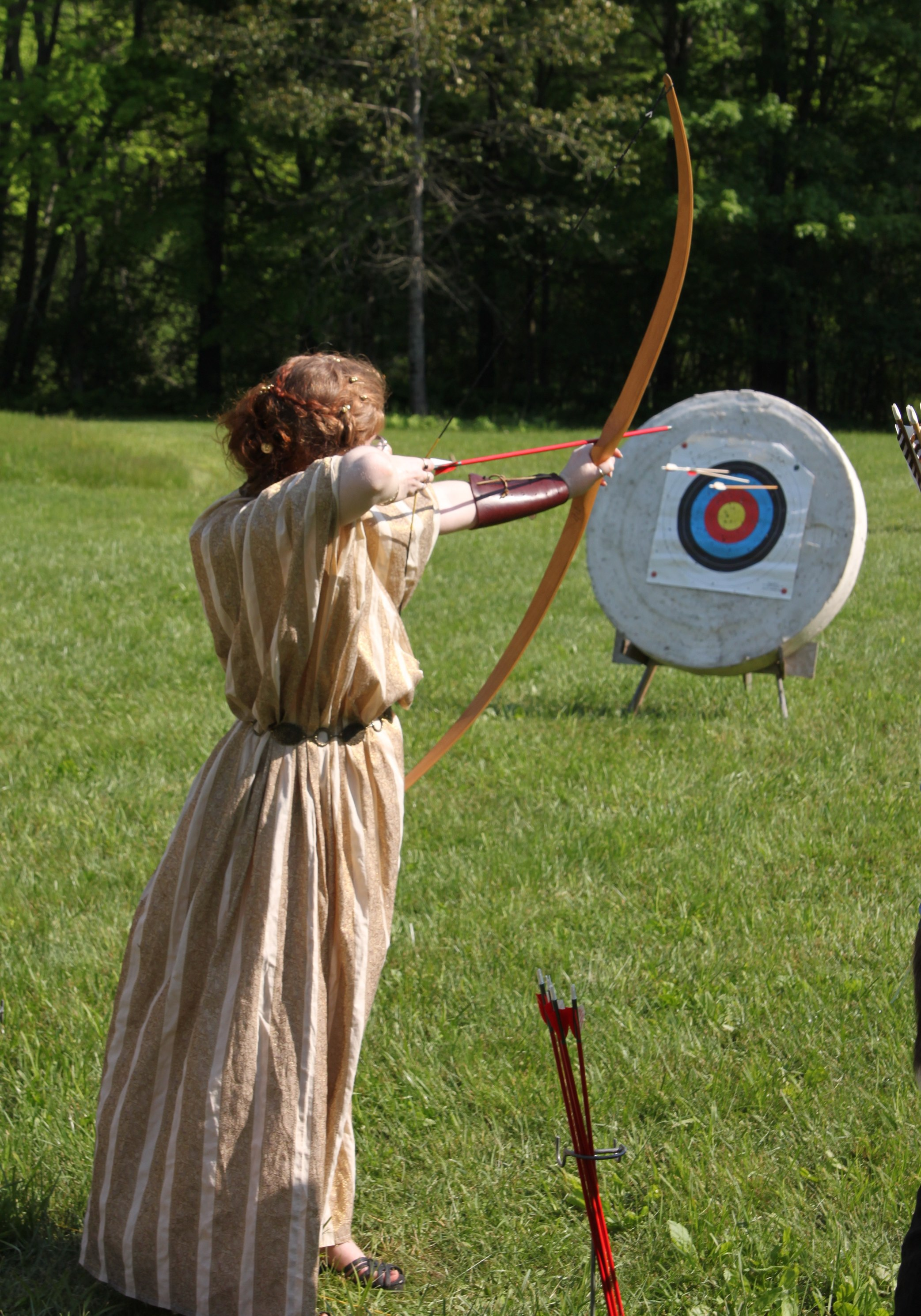 Lady archer at Panteria 2012