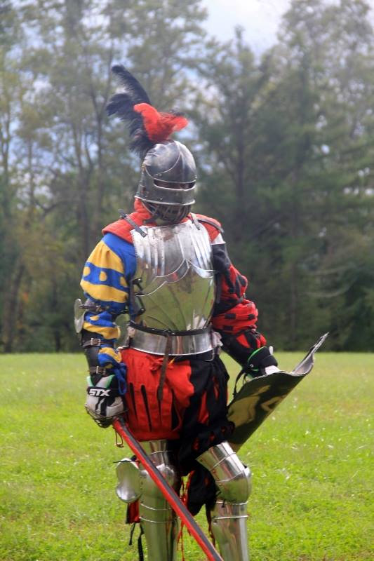Knight at Pennsic 2018
