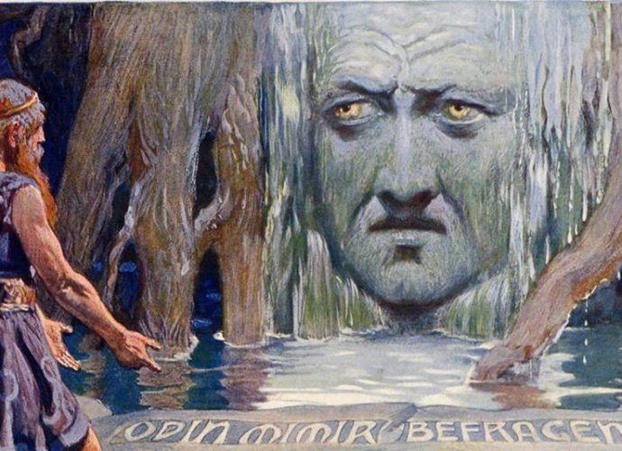 Odin at Mimir's Well