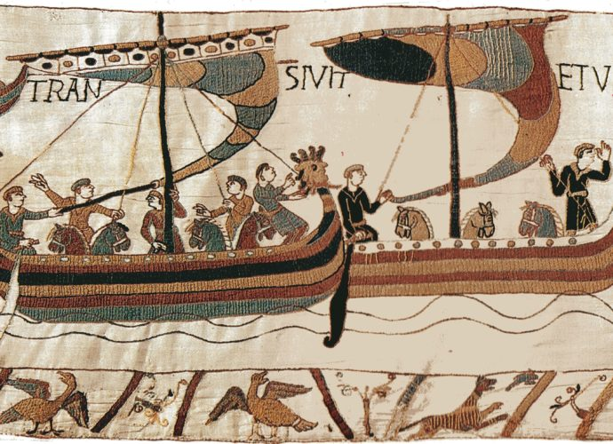 Boats from the Bayeux Tapestry